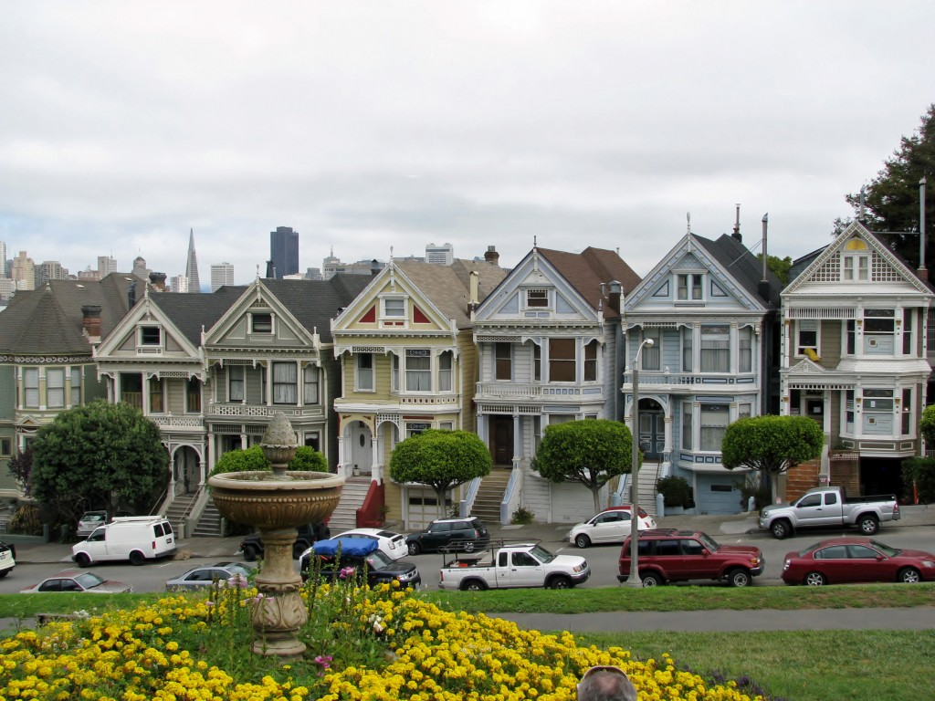 The Painted Ladies of Postcard Row, you'll find the neighborhood dotted with gorgeous examples of Victorian architecture.