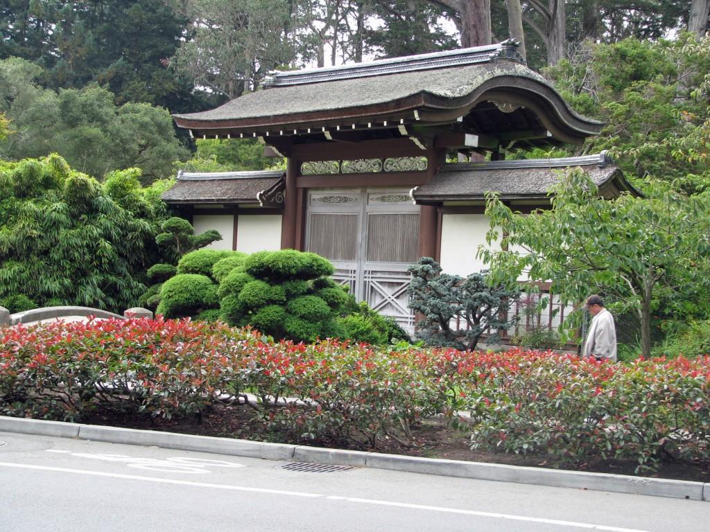 2013 09 12 SF Garden Gate Park Japanese Tea Garden Entrance