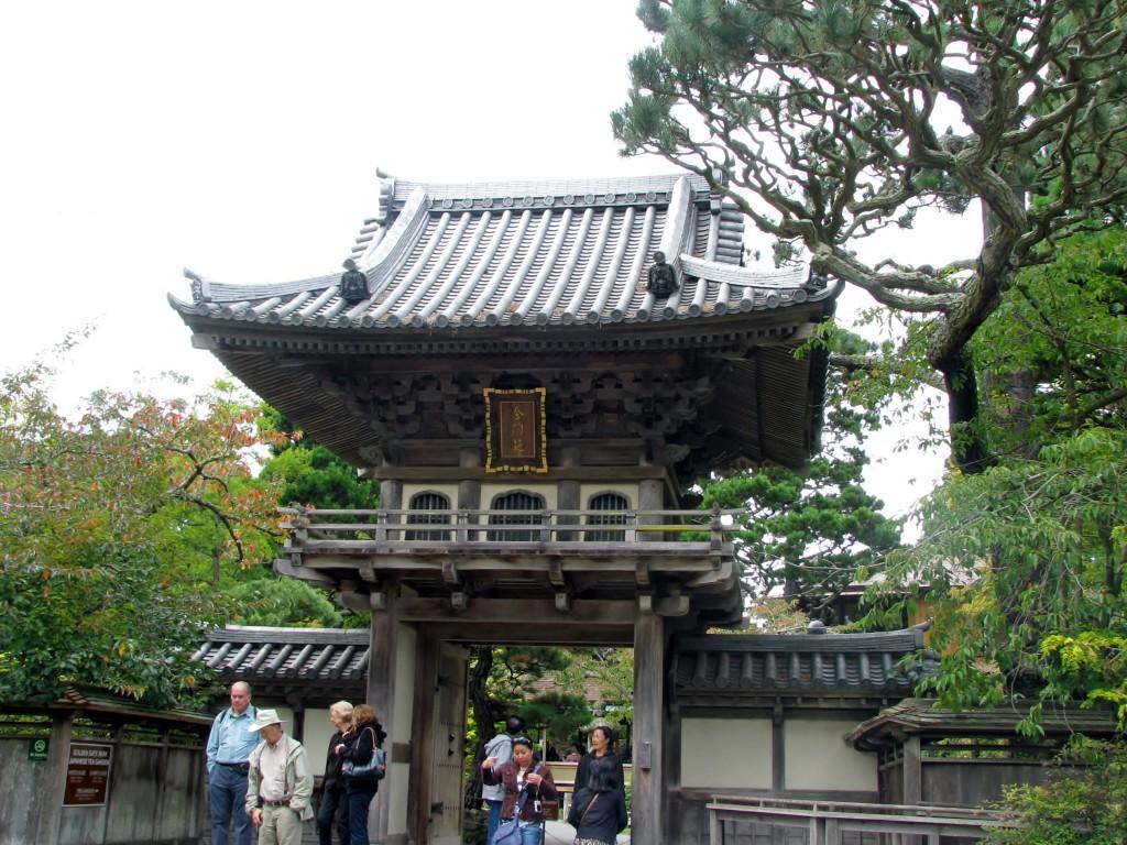 2013 09 12 SF Garden Gate Park Japanese Tea Garden Entrance (2)