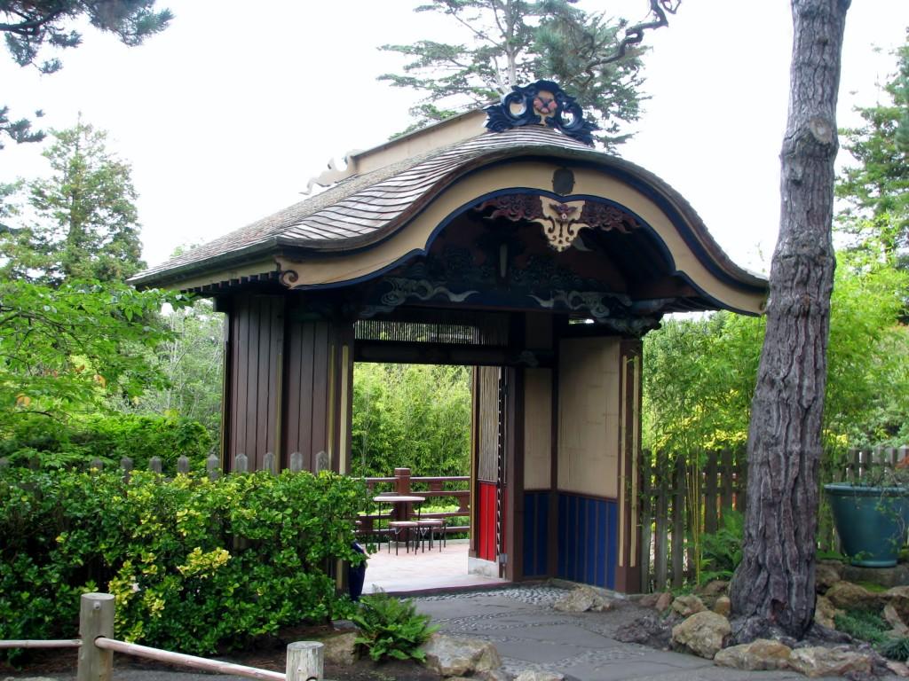 2013 09 12 SF Garden Gate Park Japanese Tea Garden Entrance Inside