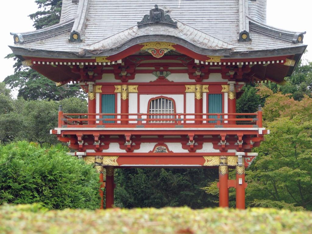 2013 09 12 SF Garden Gate Park Japanese Tea Garden pagoda (2)