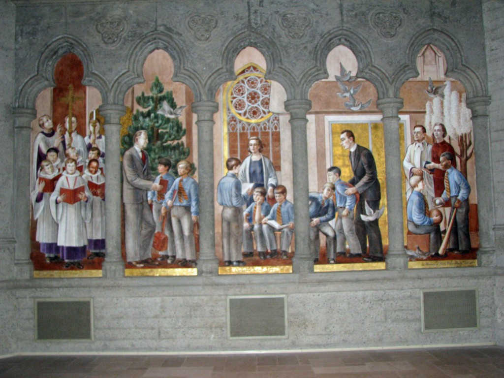 2013 09 12 SF Grace Cathedral Murals