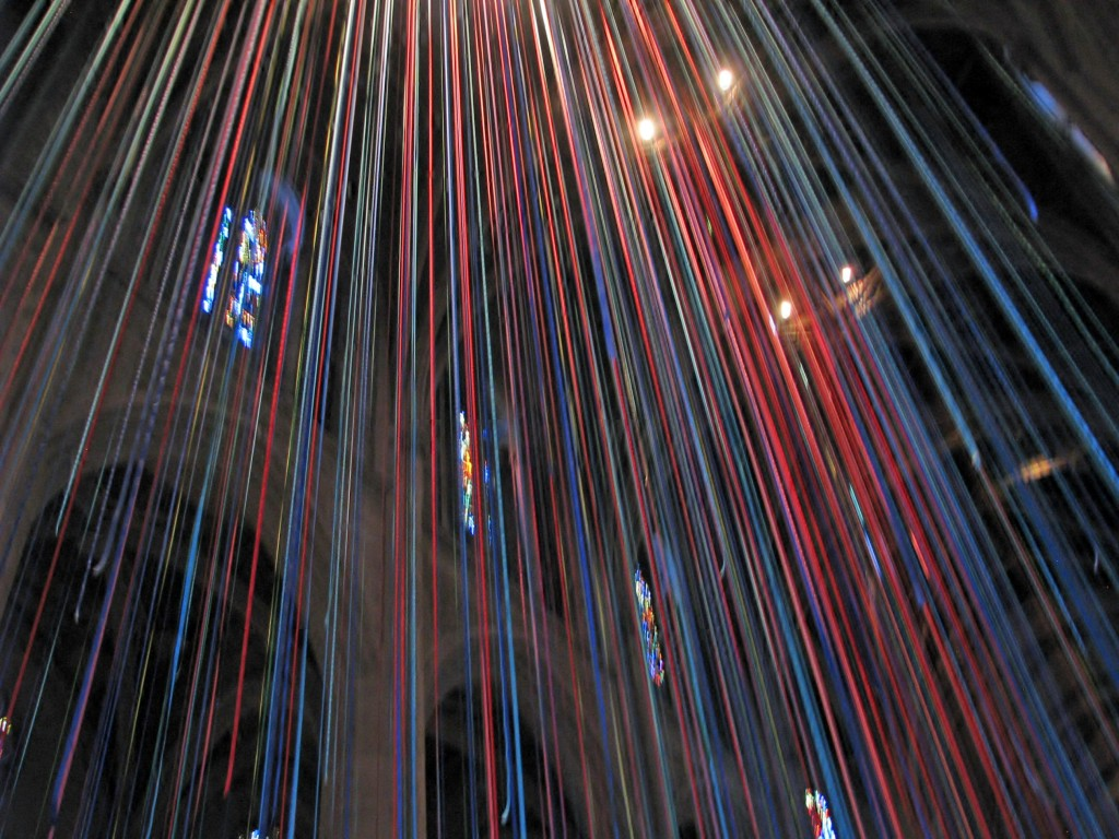 2013 09 12 SF Grace Cathedral Ribbons (2)