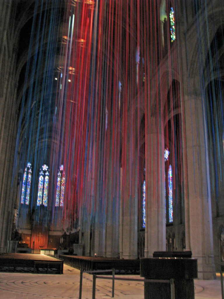 2013 09 12 SF Grace Cathedral Ribbons (3)