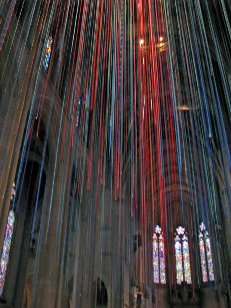 2013 09 12 SF Grace Cathedral Ribbons