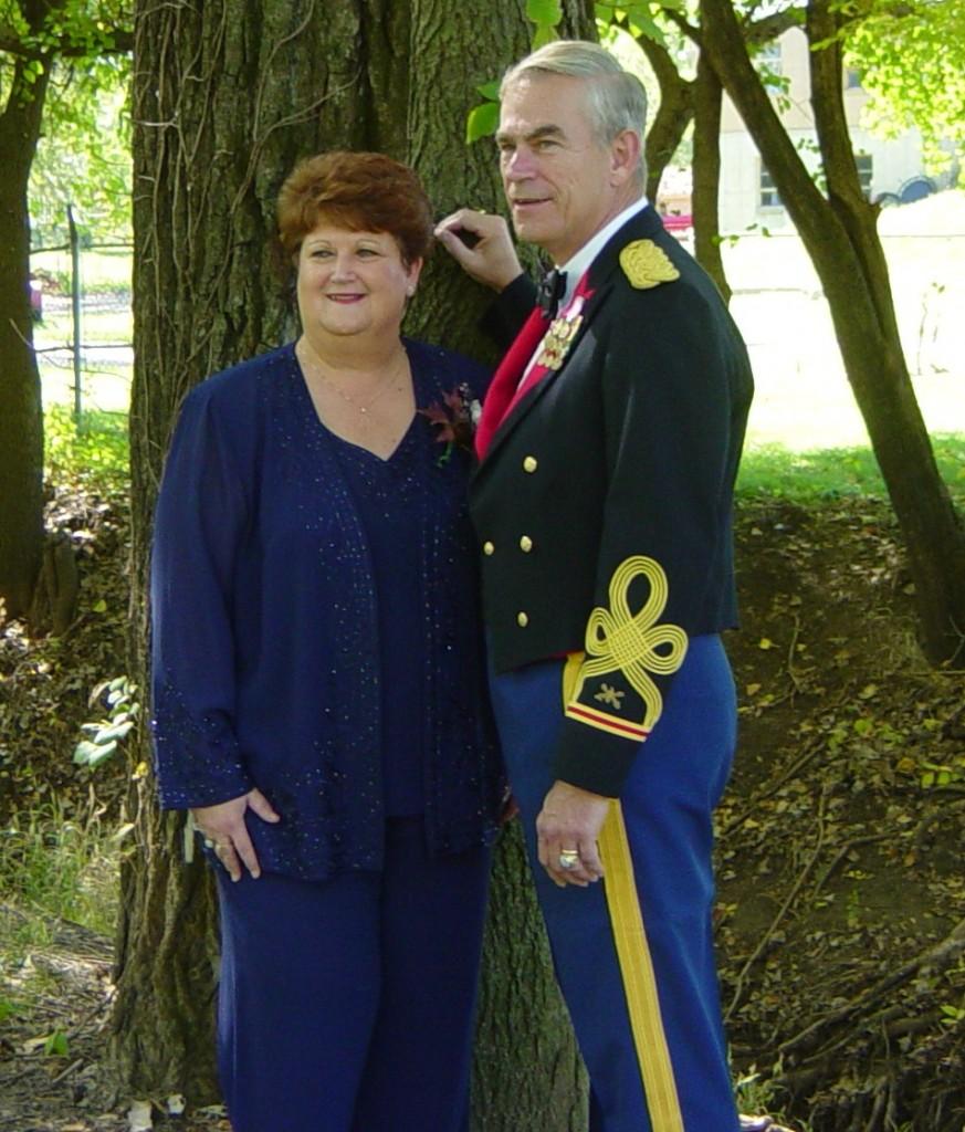 2003 10 12 Kerrick Hill Wedding Park Phyllis & Steve