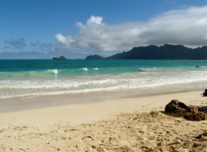 2013 11 01 Hawaii Bellows Air Force Station Beach Ocean 9