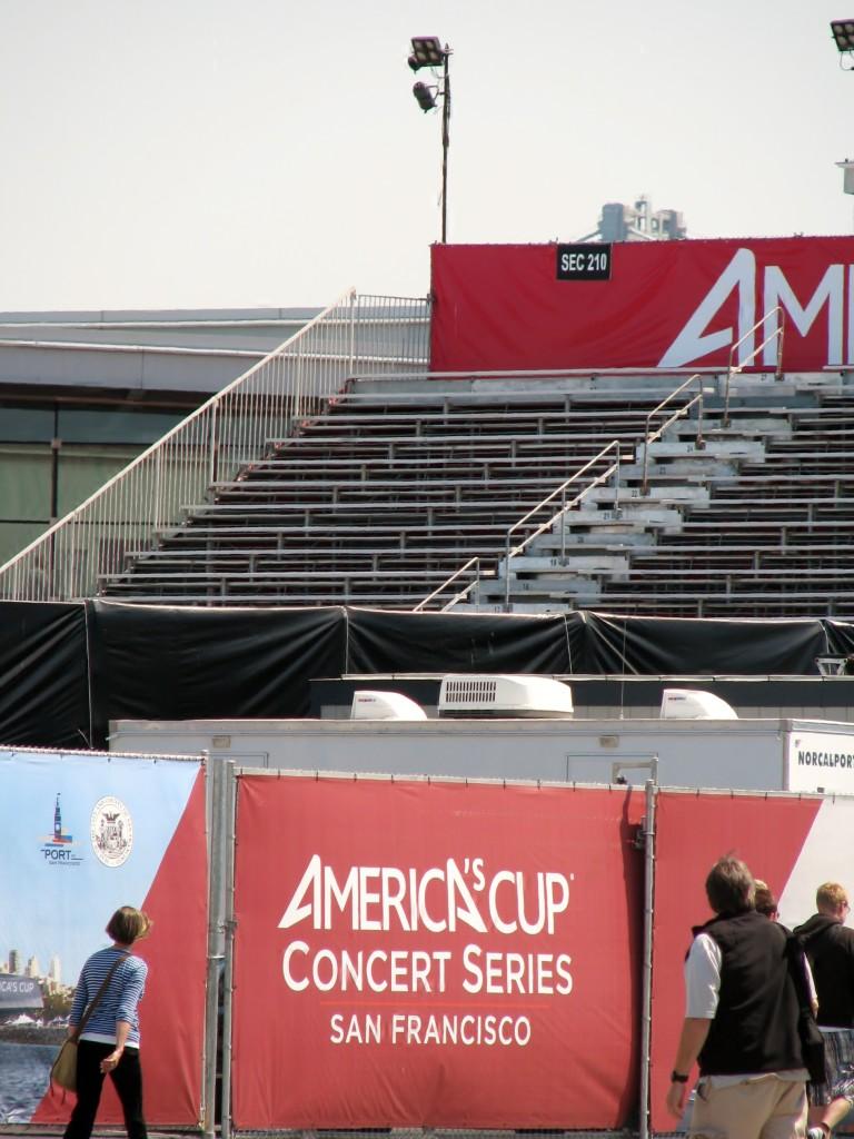 2013 09 10 SF  America's Cup Concert Area