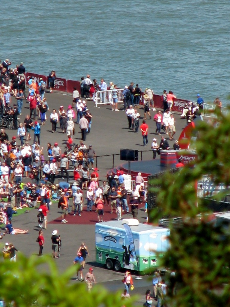 2013 09 10 SF  America's Cup  Watch Area