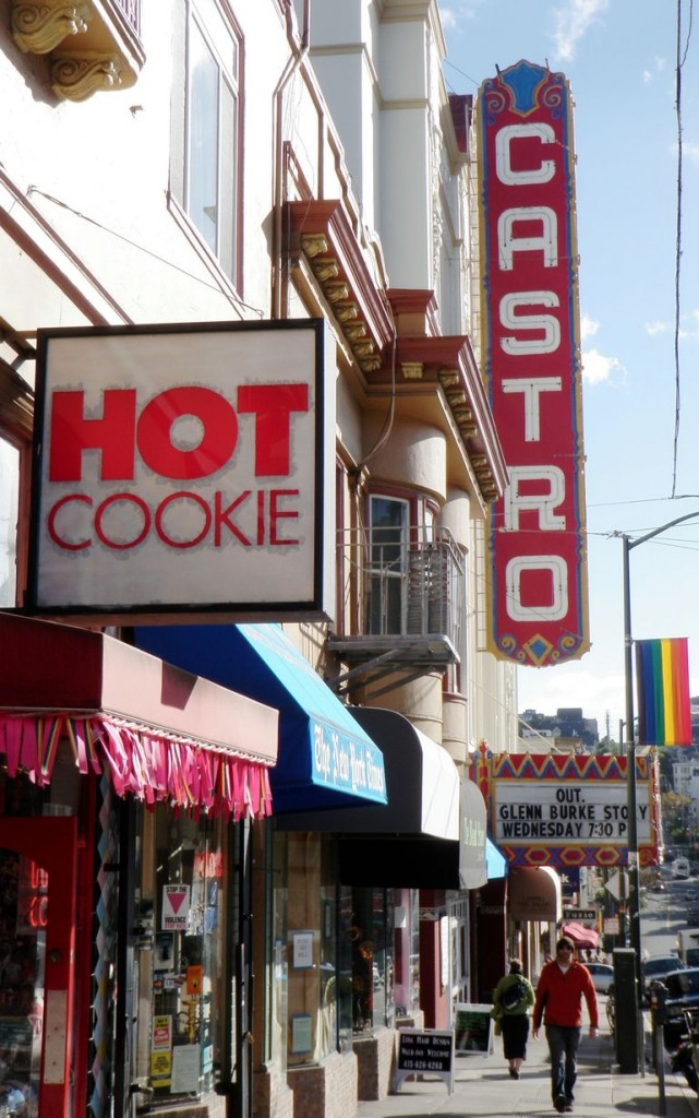 The Hot Cookie Bakery located on Castro Street is a world famous destination serving some of the city's most interesting shaped cookies. It is especially known for its coconut macaroons