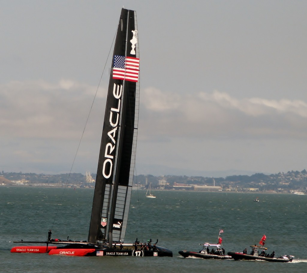 2013 09 10 SF America's Cup Race Oracle