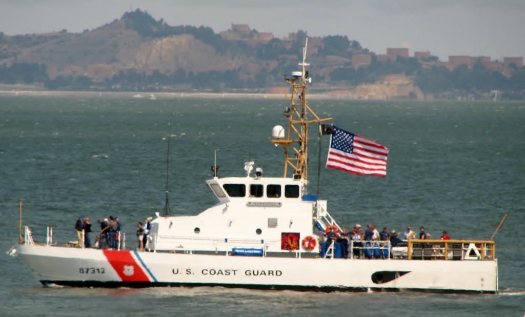 2013 09 10 SF Boats in BayUS oast Guard Ship