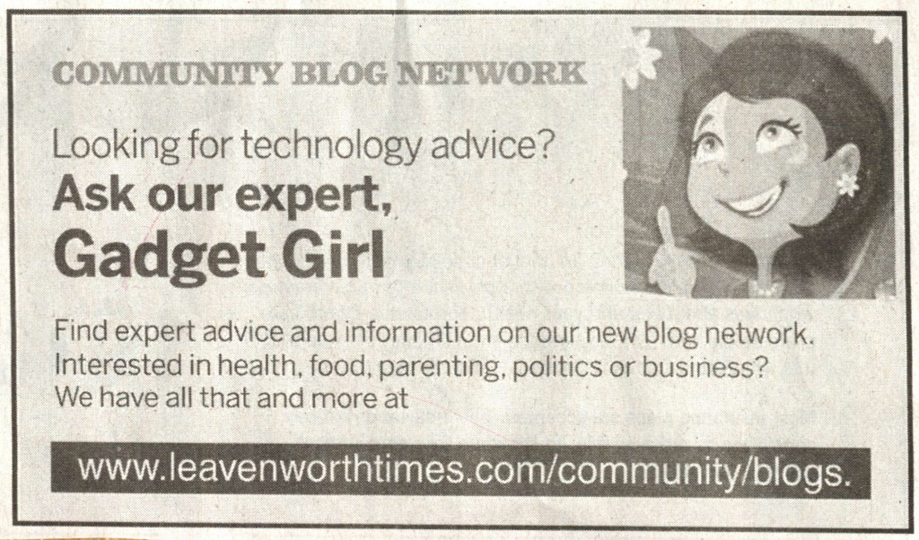 2011 01 24 Gadget Girl Ad