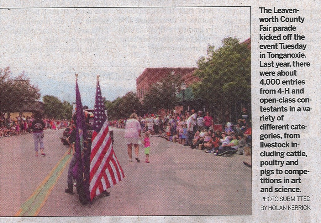 2011 08 12 Leavenworth Times Paper Photo (2)