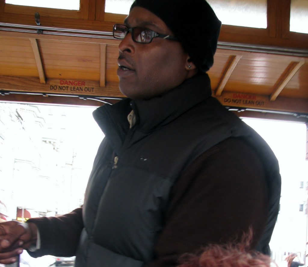 2013 09 12 SF Cable Car Driver