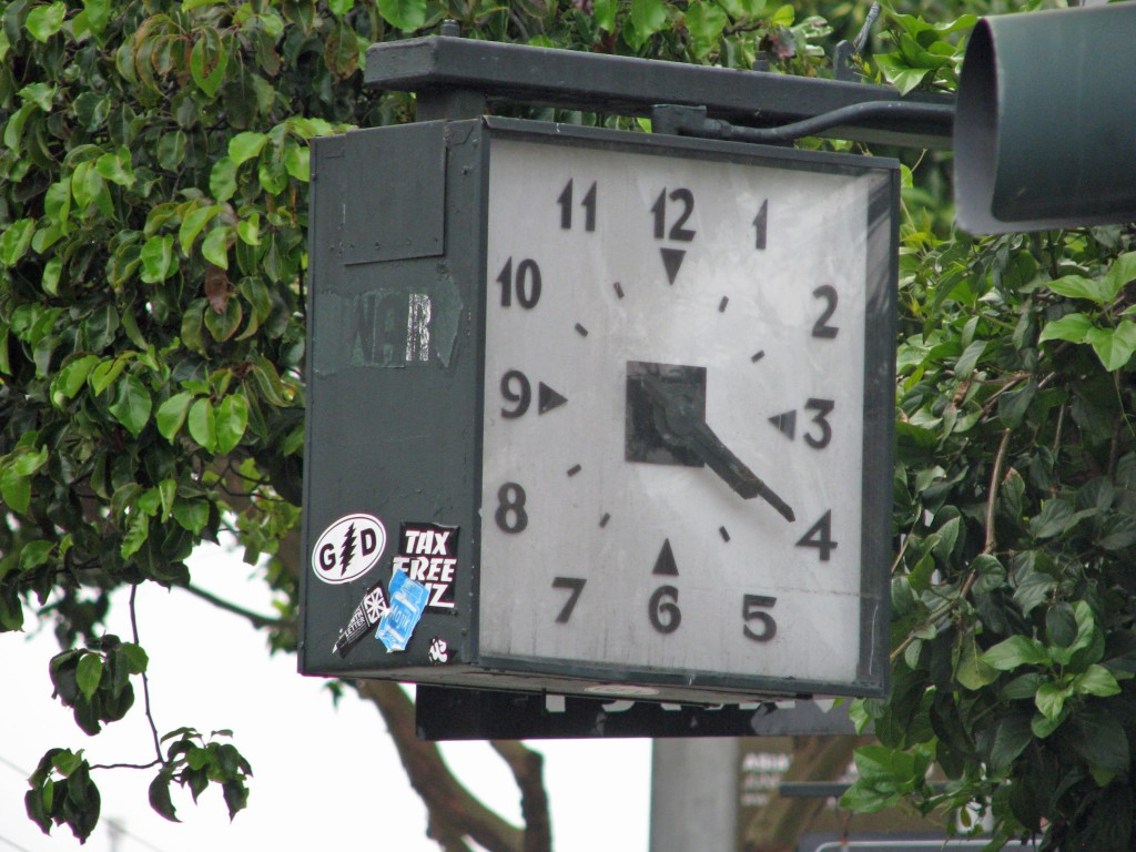 2013 09 12 SF Haight & Ashbury Clock