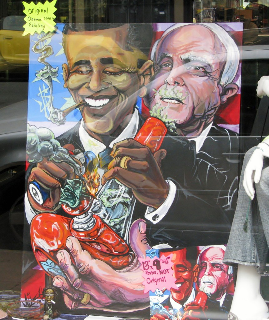 2013 09 12 SF Haight & Ashbury Obama Painting