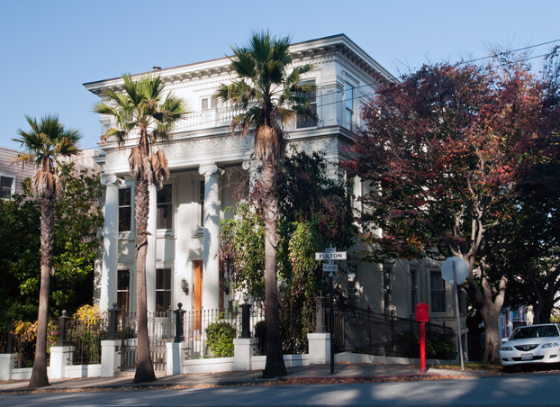 2013 09 12 SF Haight Park Rock 'n Roll Land Marks Jefferson Airplane Mansion