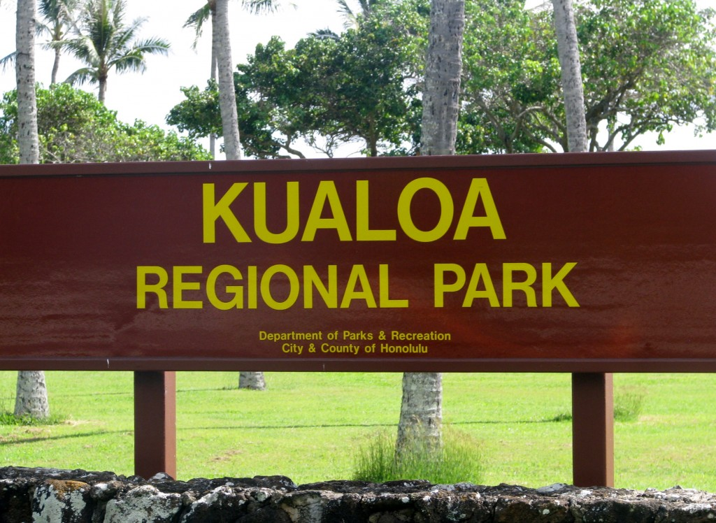 2013 10 29 Hawaii Kualoa Regional Park