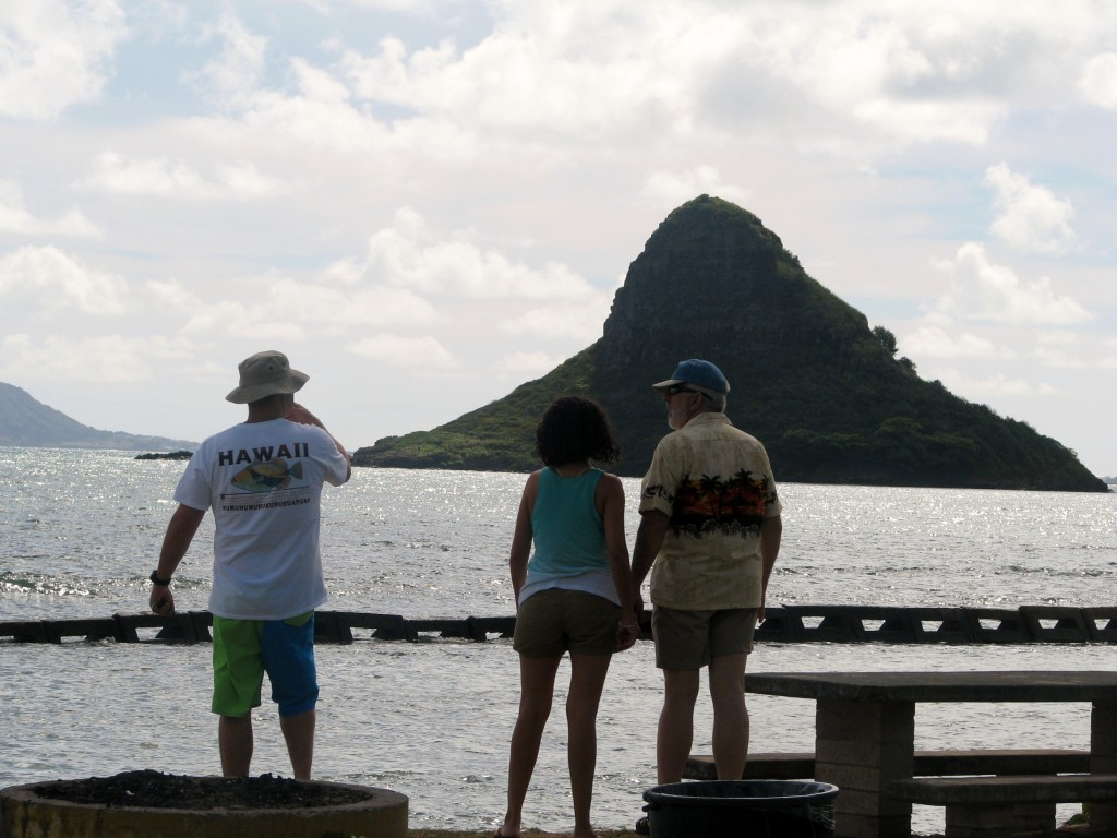 2013 10 29 Hawaii Kualoa Regional Park Jamie Carmen Fred