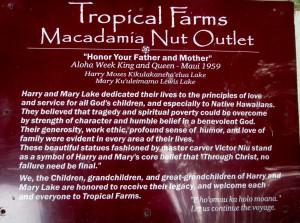 2013 10 29 Hawaii Tropical Farms Macadamia Nut Outlet (1)
