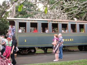 2013 11 07 Hawaii NCL Pride of America Day 6 Kauai Luau Kalamaku Plantation Train Ride (1)