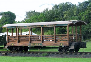 2013 11 07 Hawaii NCL Pride of America Day 6 Kauai Luau Kalamaku Plantation Train Ride (12)