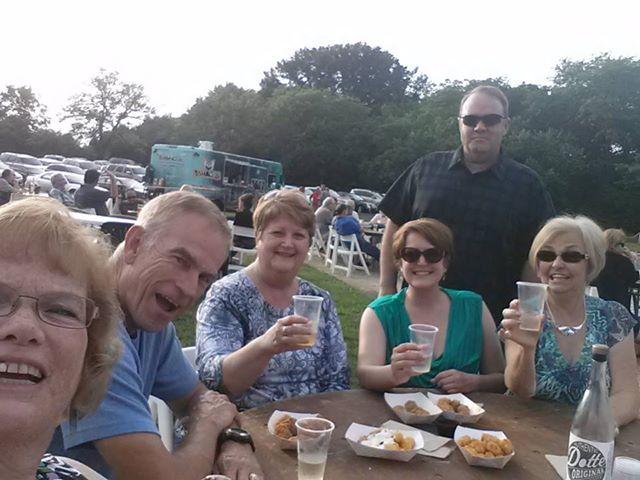 2014 06 06 64th Birthday Wine Barn group