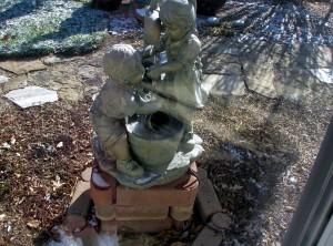 2014 03 23 Backyard Fountain