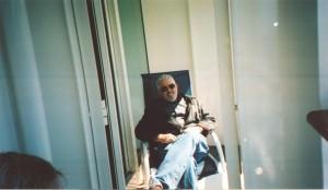 2007 06 16 NCL Star Alaska Ship Balcony Fred