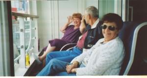 2007 06 16 NCL Star Alaska Ship Balcony Lupe Rotchford Steve Phyllis Kerrick