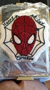 2013 09 07 Cameron's 3rd Birthday Cake