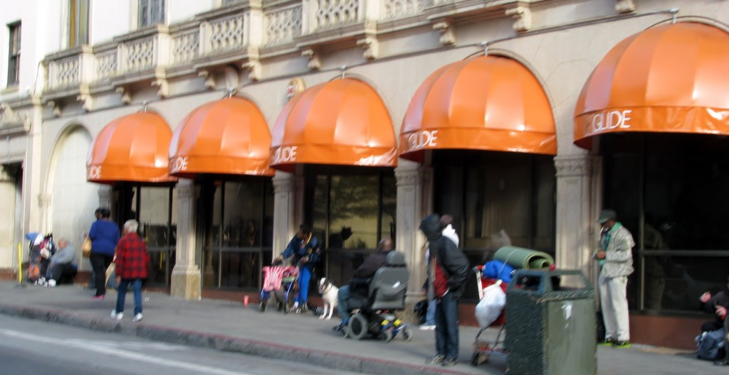 It didn't take much time to see the homeless of San Fransico.