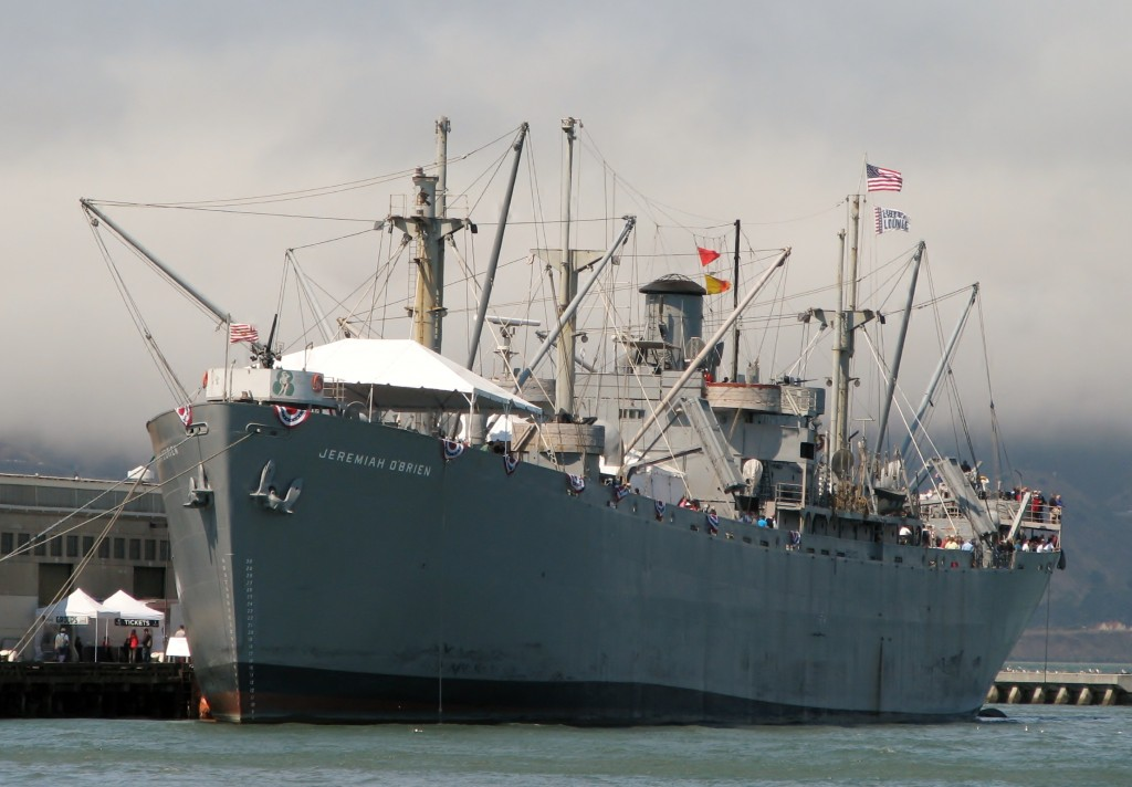 A floating museum dedicated to the men and women who built & sailed the ships. Built during WW II, stormed Normandy on D-Day, 1 of only 2 operational Liberty ships afloat.