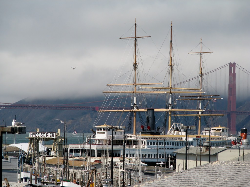 2013 09 10 SF Fishermen's Wharf Hyde St Pier Jeremiah O'brien (2)