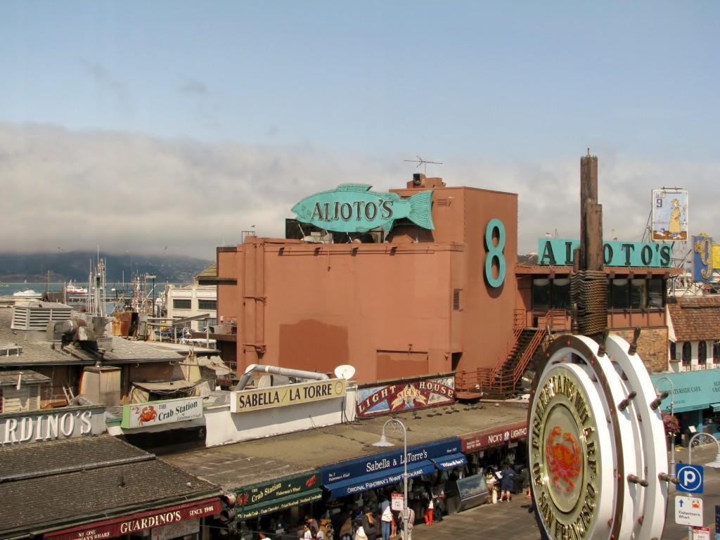 2013 09 10 SF Fishermen's Wharf Restaurants