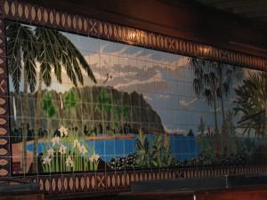 2013 11 01  Hawaii Kaneohe Haleiwa Joe's II Seafood Grill 4 Tile Mural