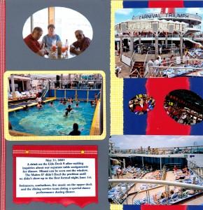 2003 05 31 Carnival Triumph Cruise Kerrick-Rotchford On Board