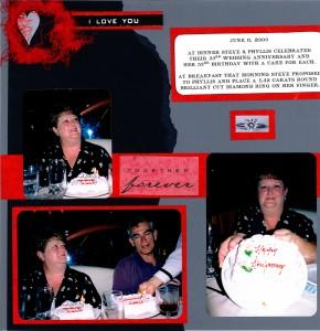 2003 06 05 Carnival Triumph Cruise Kerrick-Rotchford Anniversary Dinner