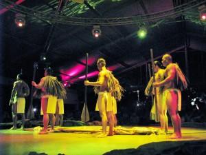 2013 11 07 Hawaii NCL Pride of America Day 6 Kauai Luau Kalamaku The Story (14)
