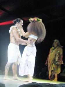 2013 11 07 Hawaii NCL Pride of America Day 6 Kauai Luau Kalamaku The Story Wedding