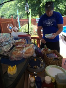 2014 07 04 4th Pool Party Lunch Food