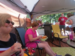 2014 07 04 4th Pool Party Lunch Group 2