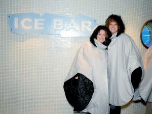 2010 10 13 NCL Epic Eastern Caribbean Ice Bar Holan Kristie