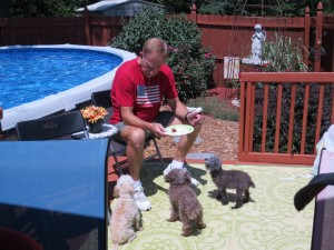 2014 07 04 4th Pool Party Steve Dogs (2)