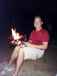 2014 07 04 Fire Pit Mark Tiny Chair