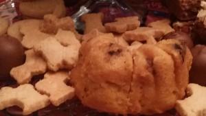 2014 12 31 New Years Eve Food Rum Cake Scotties