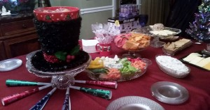 2014 12 31 New Years Eve Food Table