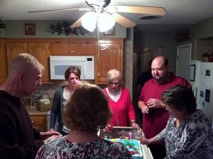 2015 03 06 Wine Tasting  Birthday Cake