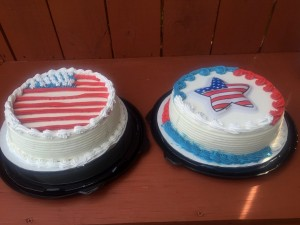 2015 07 04 4th of July Weekend Lunch Dessert